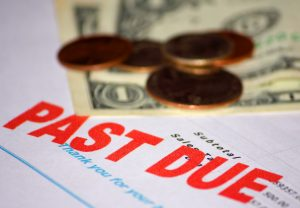 past due with money on the page for a person who called a child support lawyer michigan