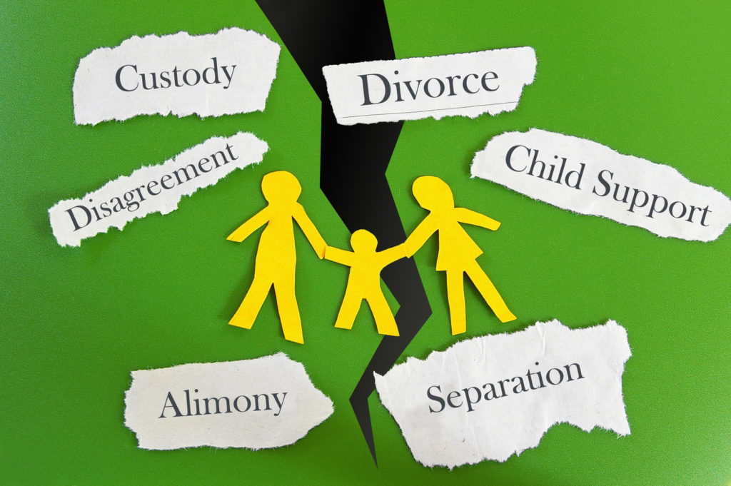 divorce concept when selecting a good alimony attorney in Dayton
