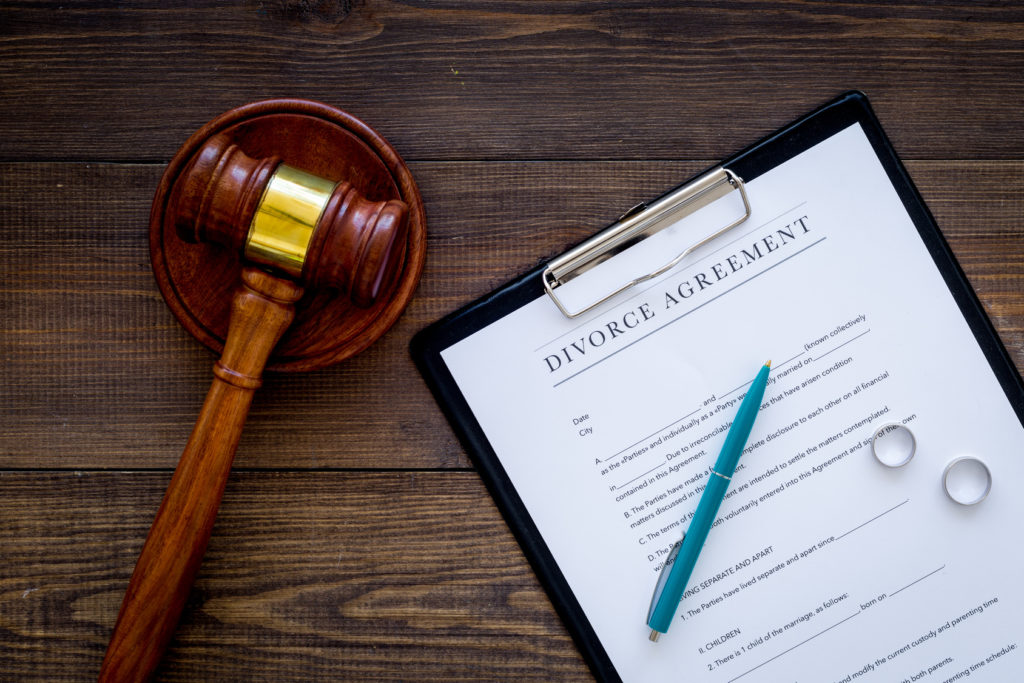 Divorce agreement proceedings for when seeking a skilled family law attorney in Sylvan Lake.